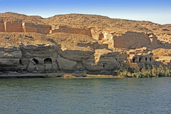 Aswan dam Stock Photo