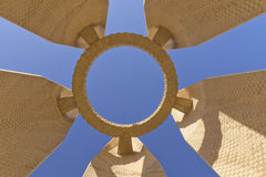 Aswan Dam Memorial (Egypt) royalty free stock images