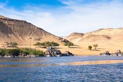 Aswan, Egipt obraz royalty free