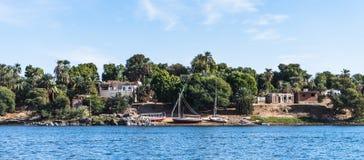 Aswan, Egito Imagens de Stock Royalty Free