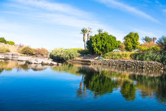 Aswan, Egito Foto de Stock