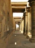 Aswan, Egitto: Tempiale di ISIS all'isola di Philae immagini stock libere da diritti