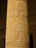 Aswan, Egitto: Tempiale di ISIS all'isola di Philae fotografia stock libera da diritti