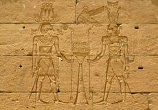 Aswan, Egitto: Tempiale di Kalabsha in lago Nasser fotografie stock libere da diritti