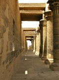 Aswan, Egypt: Temple of Isis at Philae island Royalty Free Stock Images