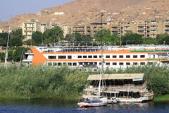 Aswan Egypte Stock Foto's