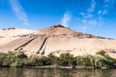 Aswan Egypten arkivfoton