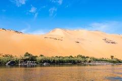 Aswan Egypten fotografering för bildbyråer