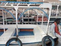 Aswan fartyg royaltyfria bilder