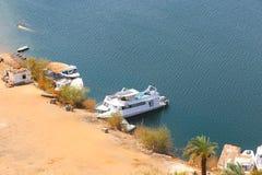Aswan från överkanten - Egypten fotografering för bildbyråer