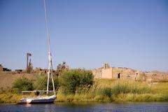 Aswan landscapes Stock Image