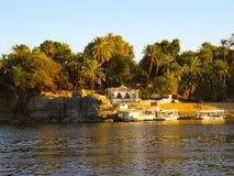 Aswan landssida Royaltyfria Bilder