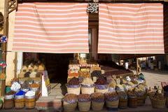 Aswan market in egypt Royalty Free Stock Image