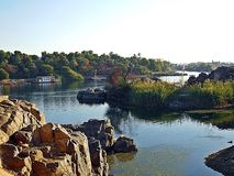 Aswan Nilen Arkivfoton