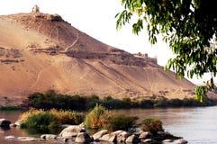 aswan pejzaż miejski Obrazy Stock