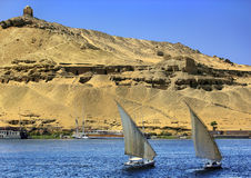 Aswan Tombs of the Nobles royalty free stock photo