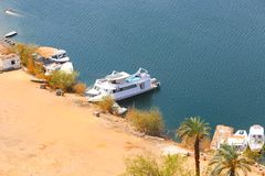 Aswan from top - Egypt royalty free stock photography