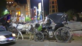 Aswan ulicy przy Egipt wideo HD zdjęcie wideo