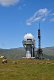 Asy Observatory in Kazakhstan. Observatory in high-altitude Asy Plateau. Kazakhstan Stock Photography
