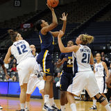 Asya Bussie - WVU Ladies Basketball Stock Images