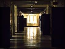 Asylhalle Stockbild