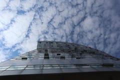 Asymetrisches Haus lizenzfreies stockfoto