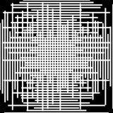 Asymetryczny siatki siatki wzór nieregularny monochromatyczny abstrakcjonistyczny tekst ilustracja wektor