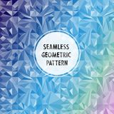 Asymmetric pattern with geometric shapes Royalty Free Stock Photography