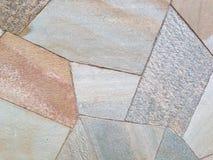 Asymmetric stones Stock Photos