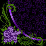 Asymmetrical purple background Royalty Free Stock Photography