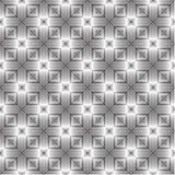 asymmetrisch controle zwart-wit patroon, achtergrondbehang, editable vector, illustratie stock illustratie