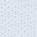 Asymmetrische verbonden puntenachtergrond royalty-vrije illustratie