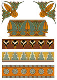 Asyrian ornaments Royalty Free Stock Image