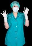 asystent lekarka zdjęcie stock