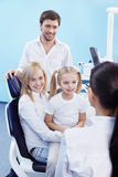 At The Dentist Stock Photos