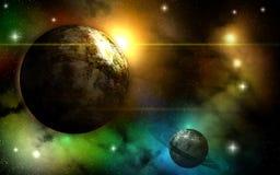 Free At The Edge Of The Nebula. Royalty Free Stock Photo - 136430485