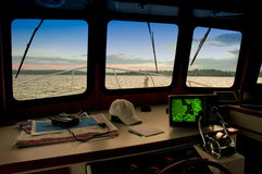 Free At The Helm Stock Photos - 2609523