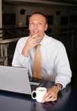 At The Office Royalty Free Stock Photo