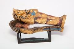 Ataúd de la momia Foto de archivo libre de regalías