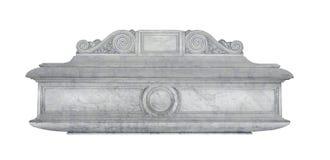 Ataúd de mármol Imágenes de archivo libres de regalías