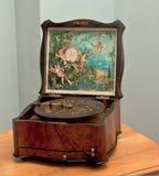 Ataúd musical del centro de 18 siglos. Fotos de archivo