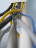 Ata con alambre la tierra técnica del equipo Imágenes de archivo libres de regalías