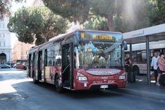 Atac buss i Rome, Italien Royaltyfri Bild