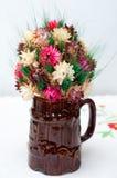 Atac com flor Fotografia de Stock