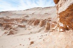 atacama智利沙漠月亮谷 免版税库存照片