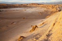 atacama智利沙漠月亮谷 免版税库存图片
