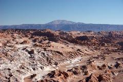atacama智利沙漠横向 库存图片