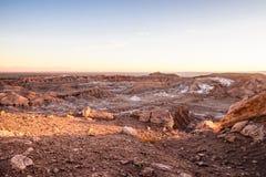 atacama智利沙漠 图库摄影