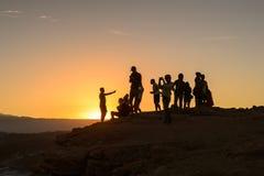 atacama智利沙漠 免版税库存图片