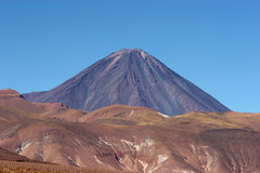 atacama智利沙漠licancabur火山 库存照片